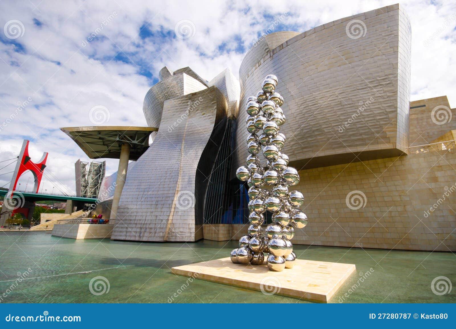 Guggenheim museum i Bilbao
