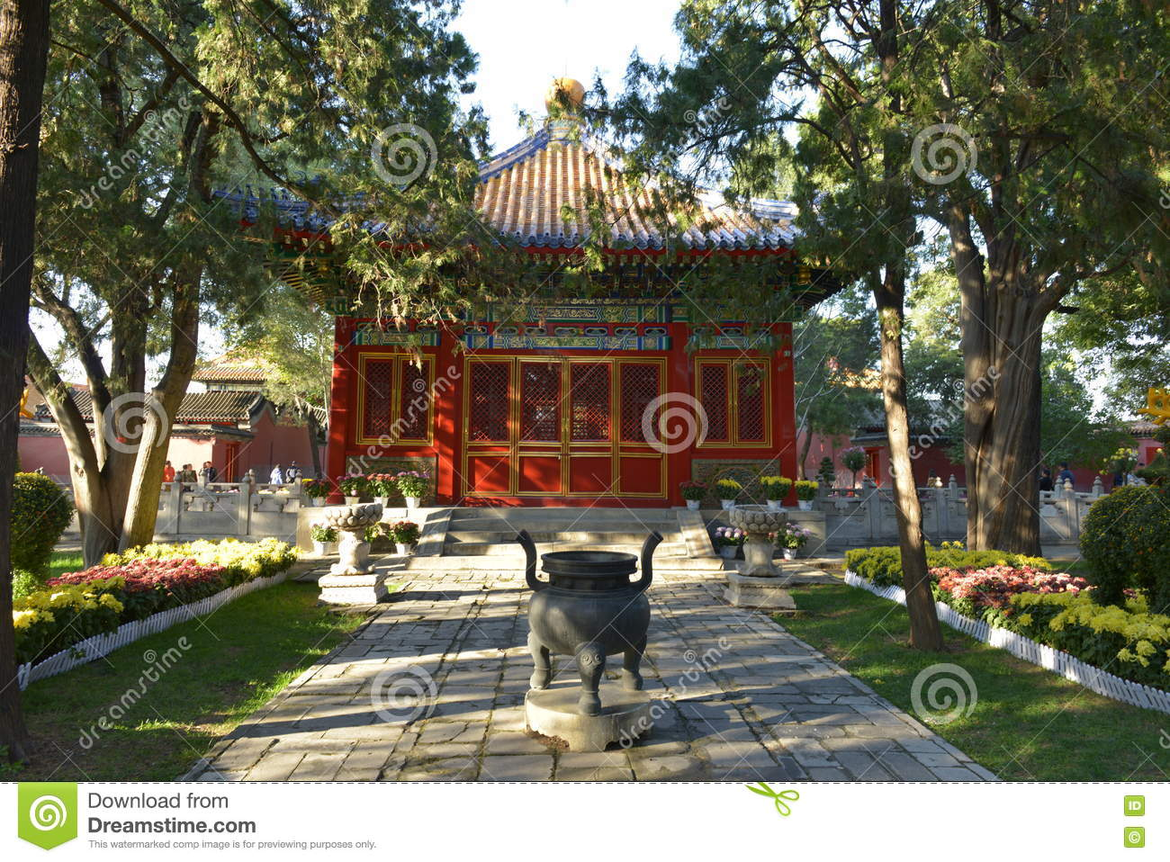 GuGong (Forbidden City) In Beijing, China Stock Image - Image of ...