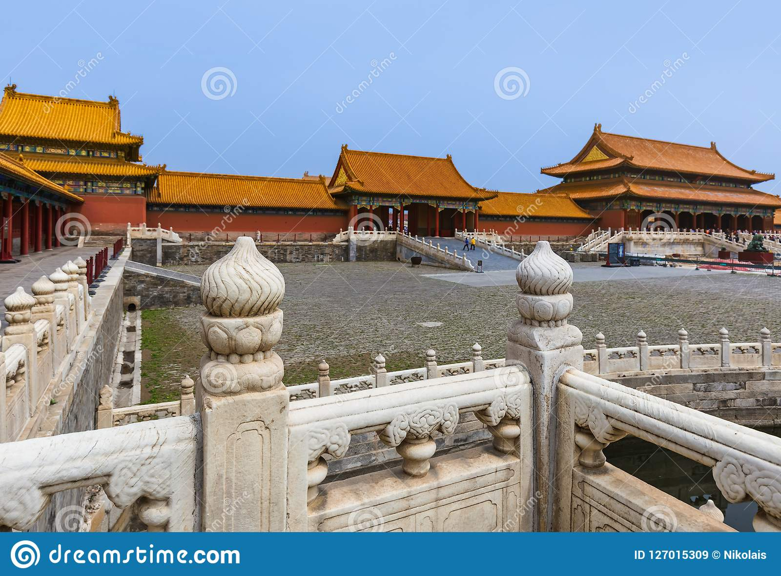 Gugong Forbidden City slott - Peking Kina
