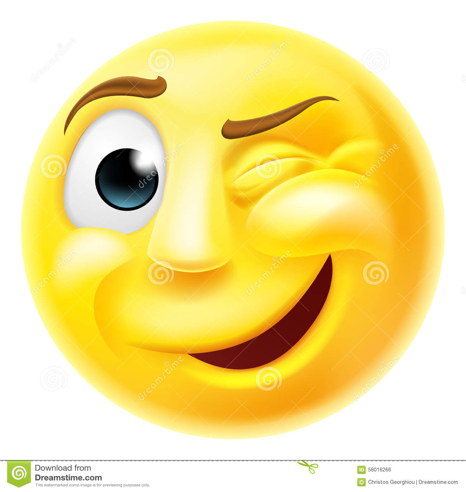 Guiño del Emoticon de Emoji