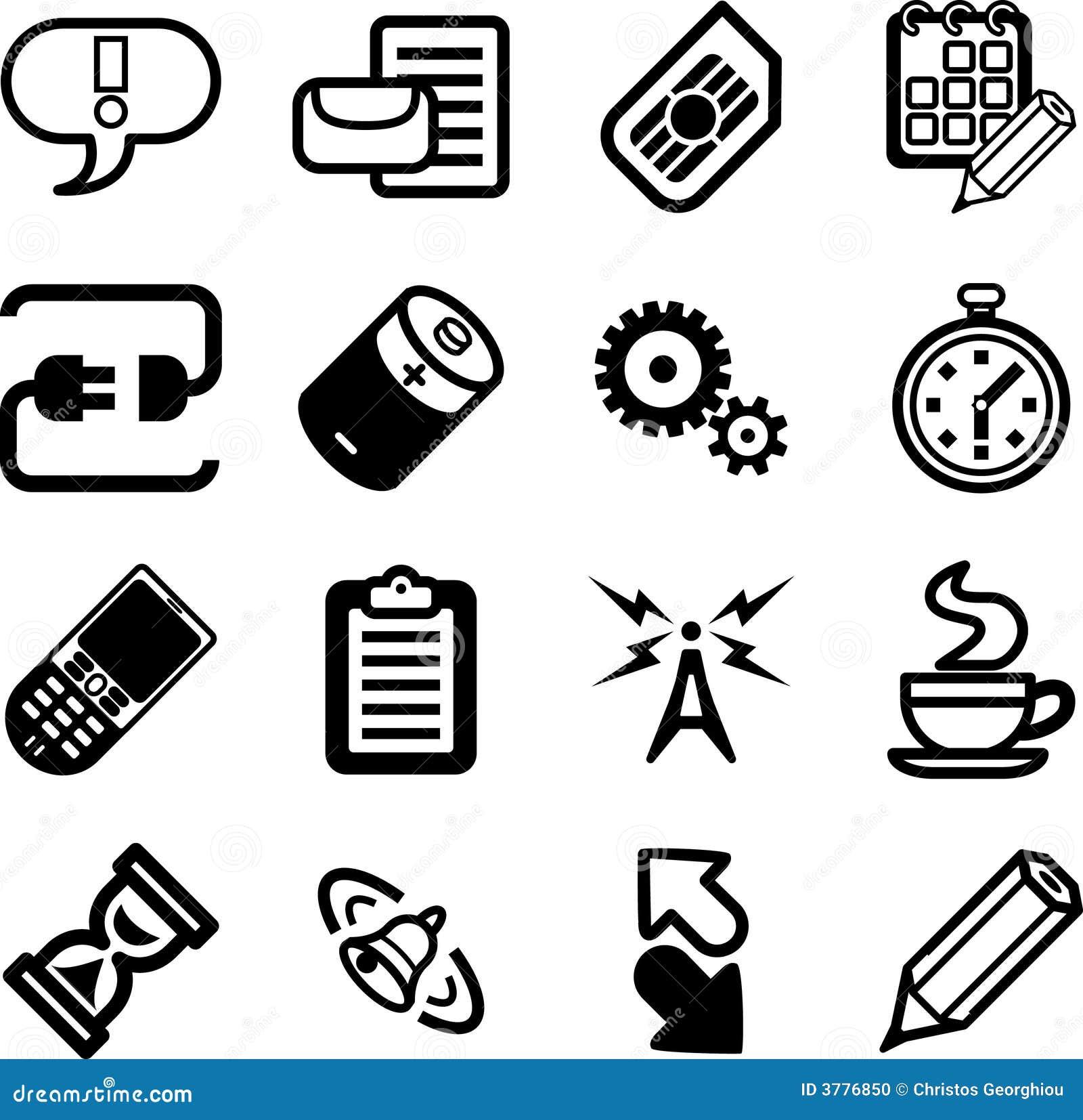 GUI di applicazioni del telefono mobile