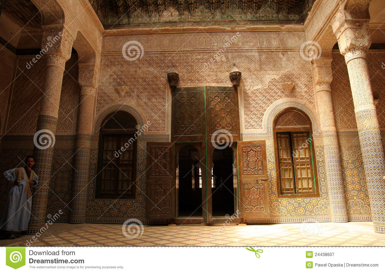 Guide inside the telouet kasbah editorial photography for Morocco motors erie pa