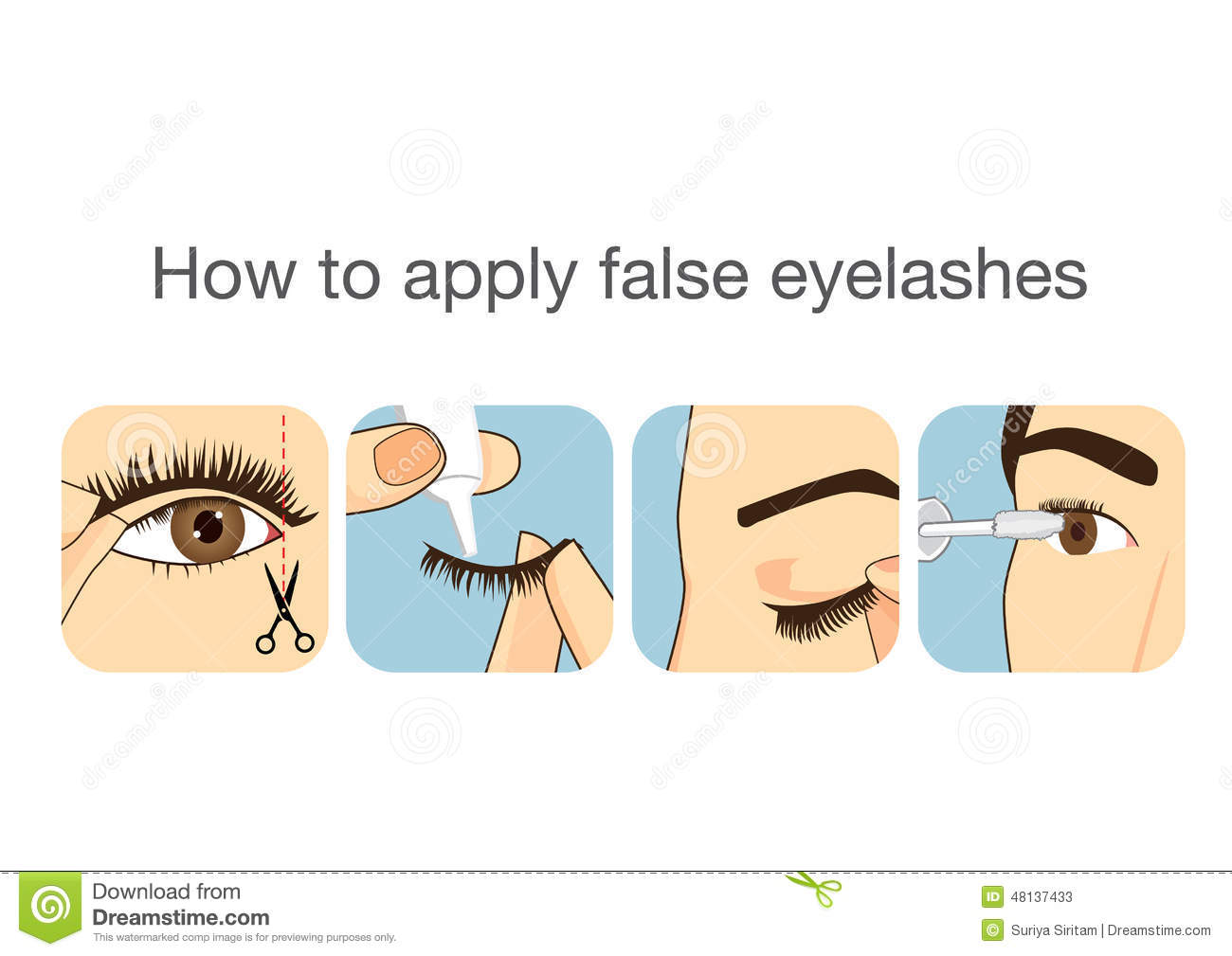 Your Step-by-Step Guide to Applying False Eyelashes Like a Pro picture