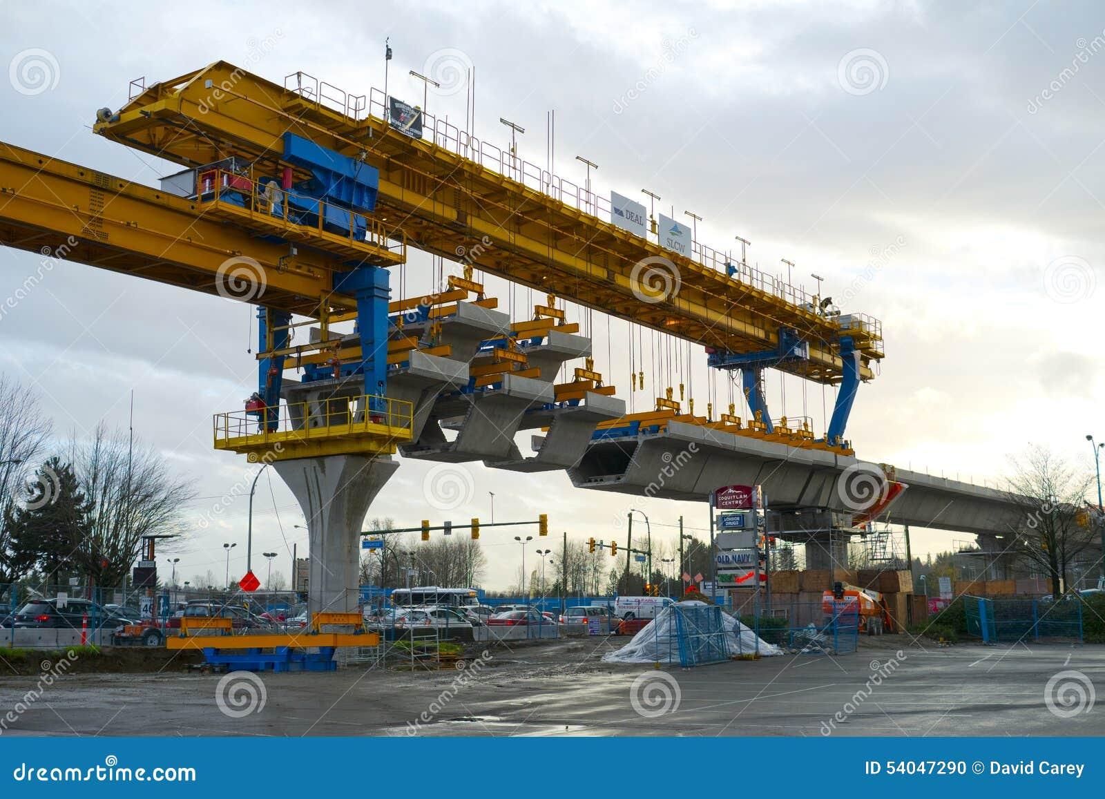 Guideway Skytrain μηχανή κατασκευής