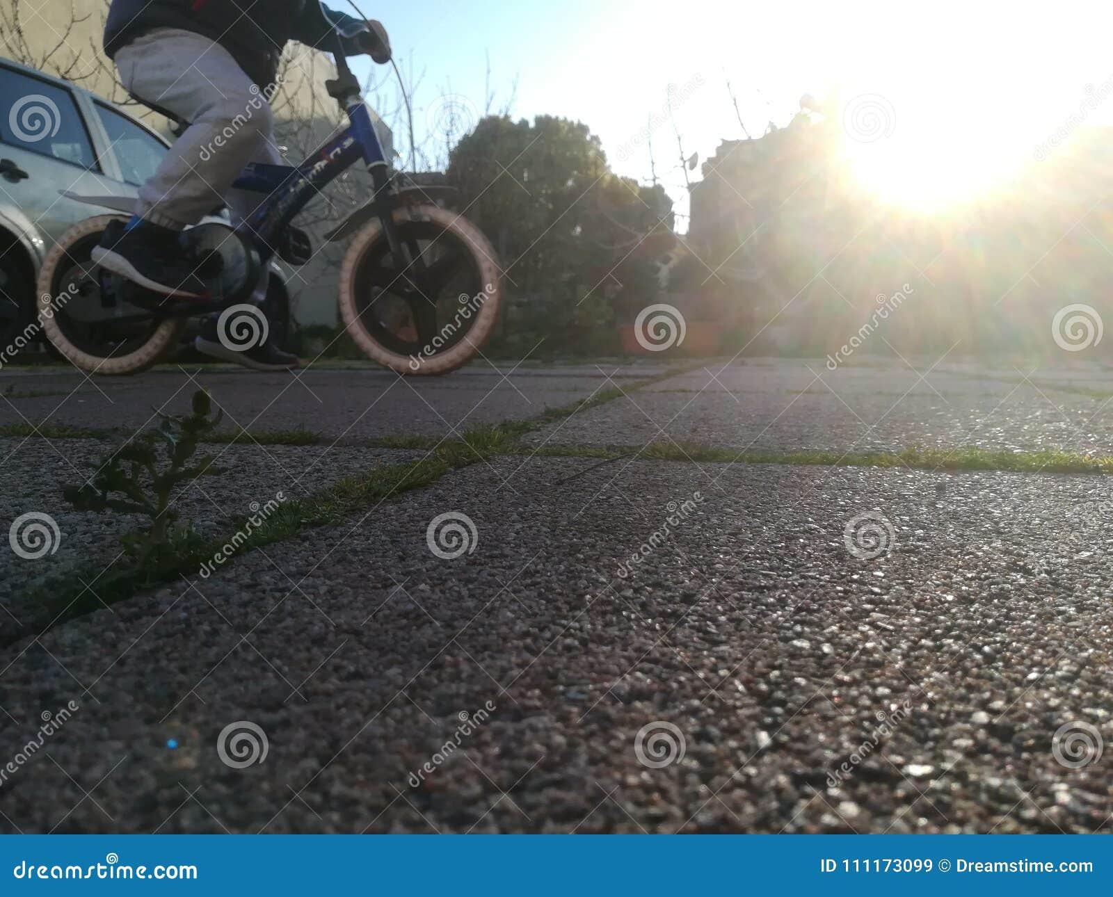Guidi la mia bici