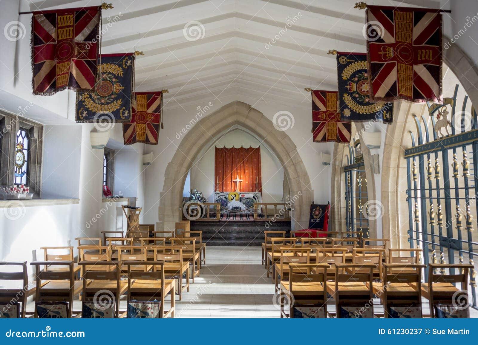 Guildford Katedralna kaplica królowej Surrey Królewski pułk