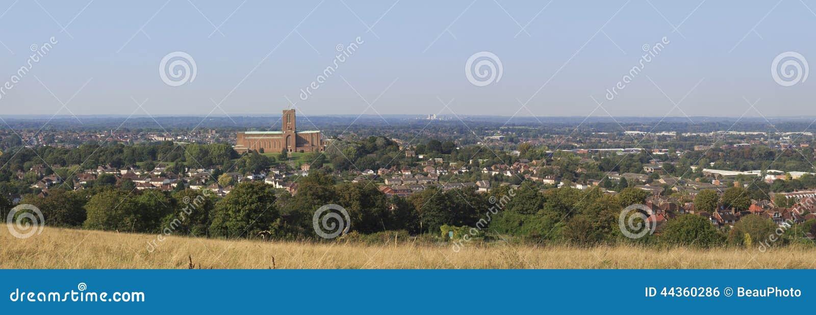 Guildford, panorama