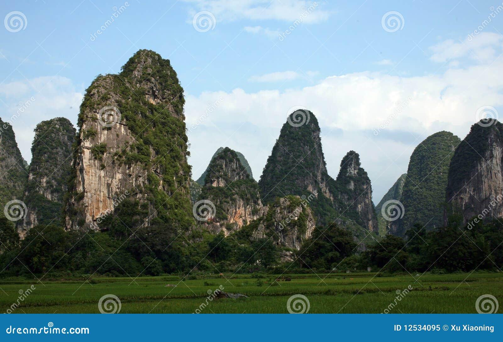 Guilin landscapes