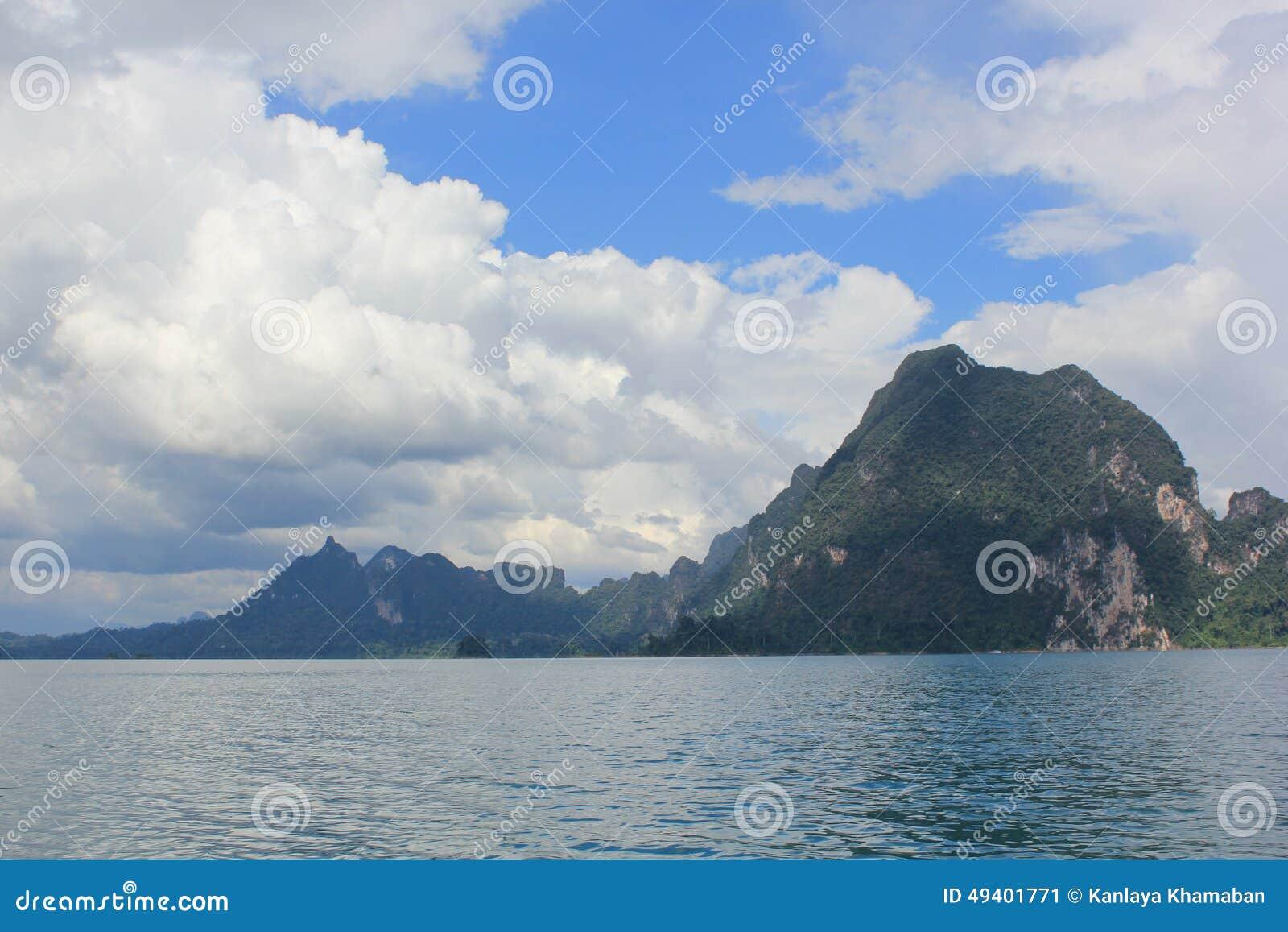 Download Guilin, Thailand stockbild. Bild von hügel, land, eingebürgert - 49401771