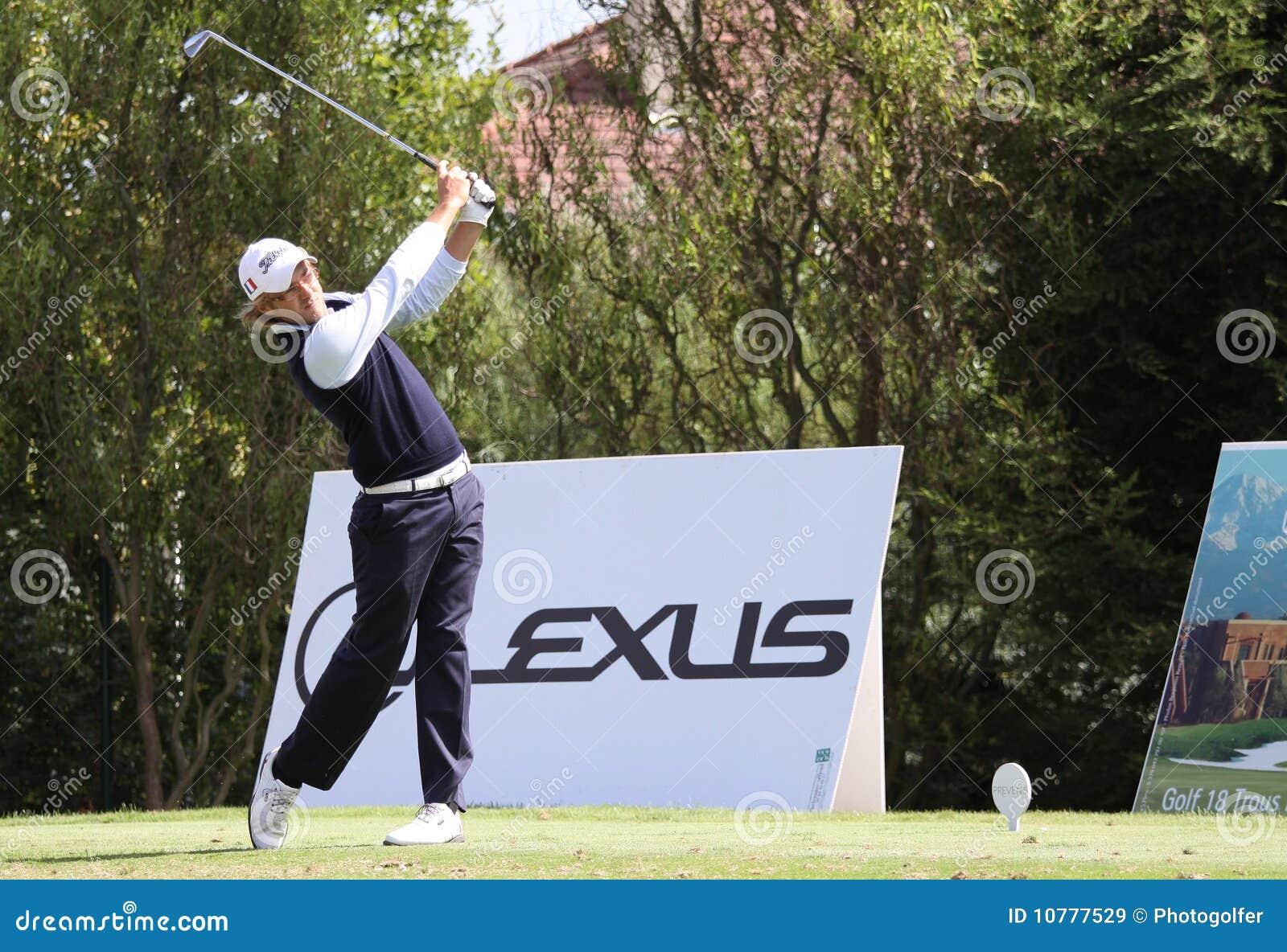 Guillaume Cambis bij het golf Prevens Trpohee 2009