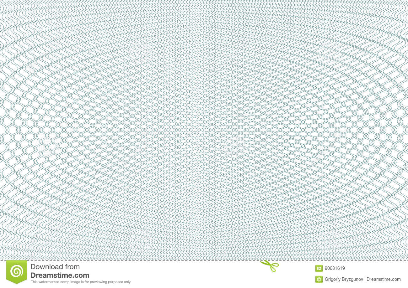Guilloche background texture green zig zag for for Papel de pared gris