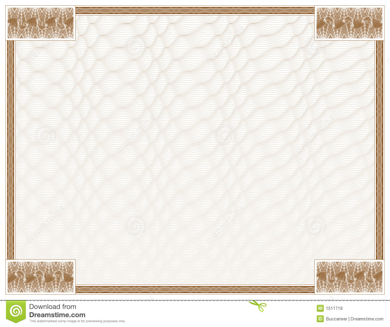 Guilloche - Frame With Background Royalty Free Stock ...