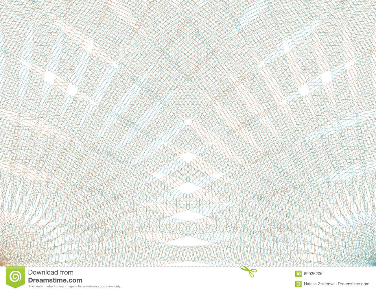 Guilloche Vector Background Grid Stock Vector - Image ...