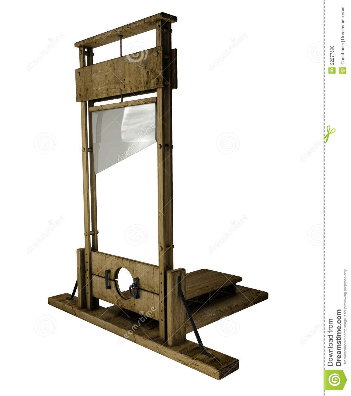 Guillotine Stock Photo - Image: 22277690