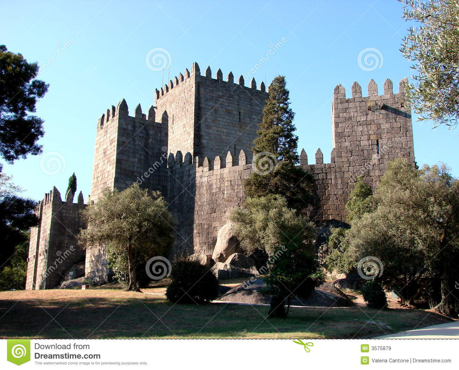 Guimaraes Portugal  city photos : The Castle of Guimaraes, Portugal.