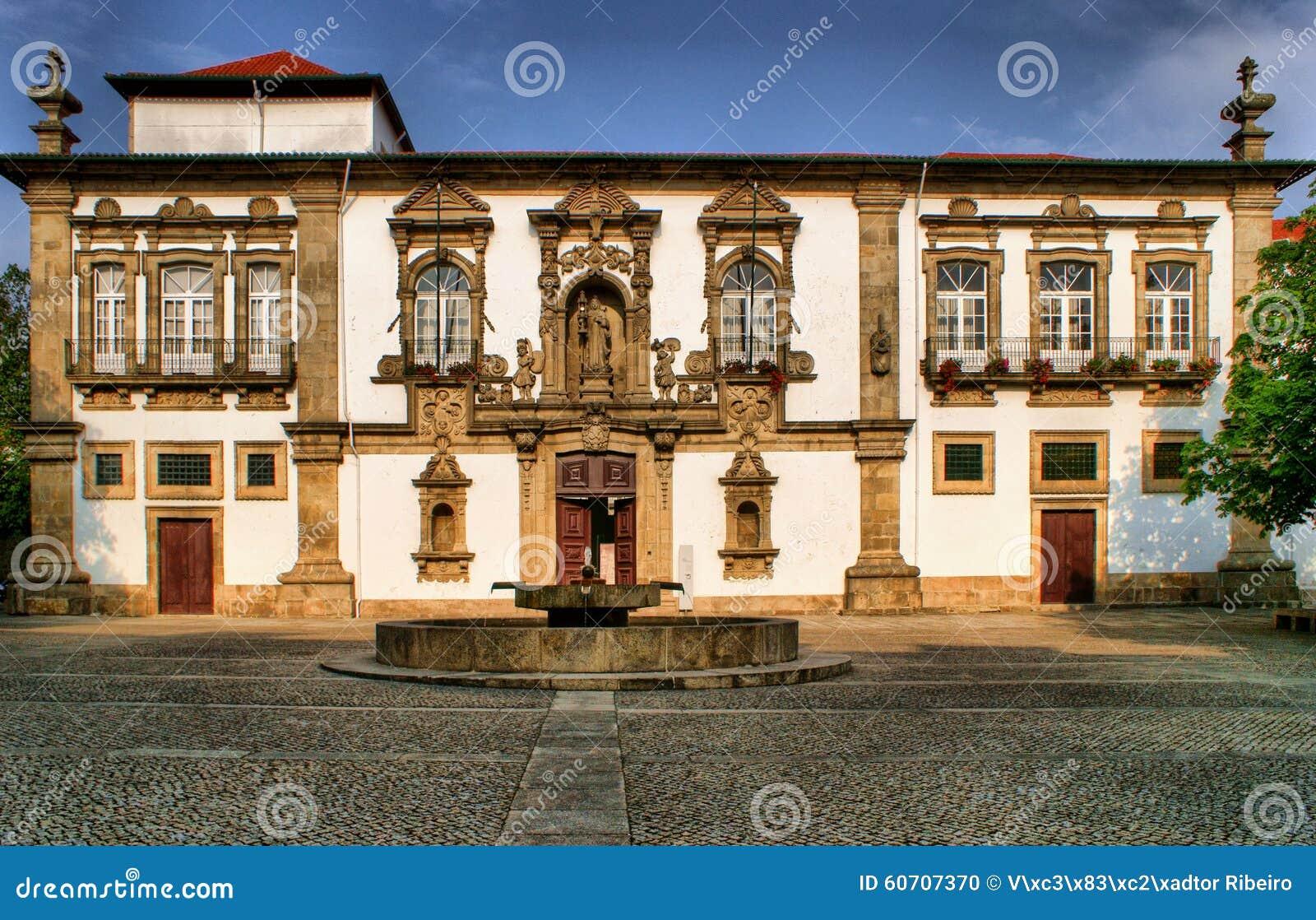 Guimaraes City-Hall in the former Santa Clara convent