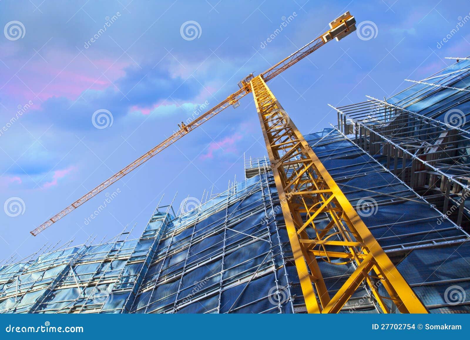 Guindaste de construção