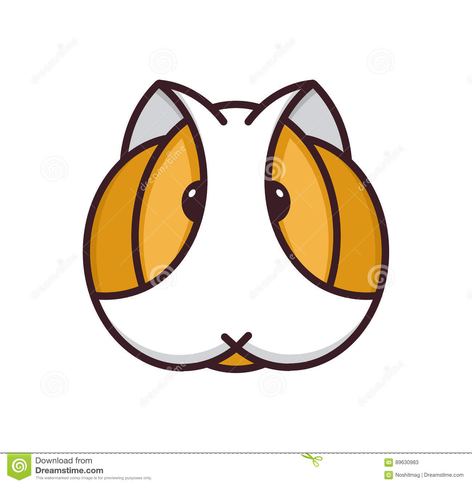 6587 guinea pig shoulder