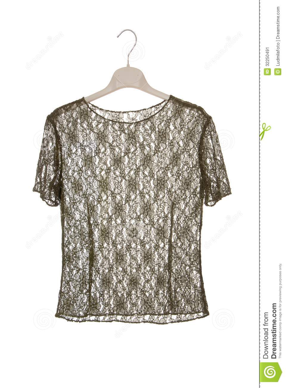guipure blouse stock image  image of knitted  dress