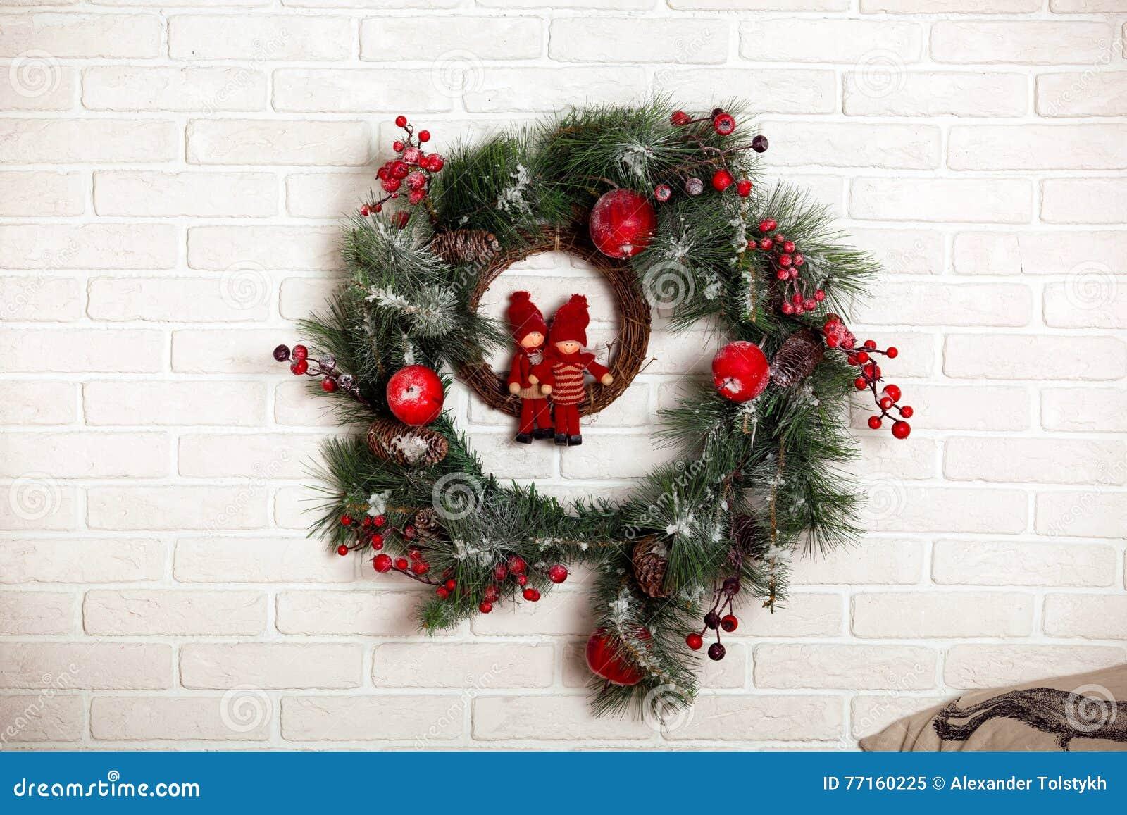 Guirlande classique de Noël