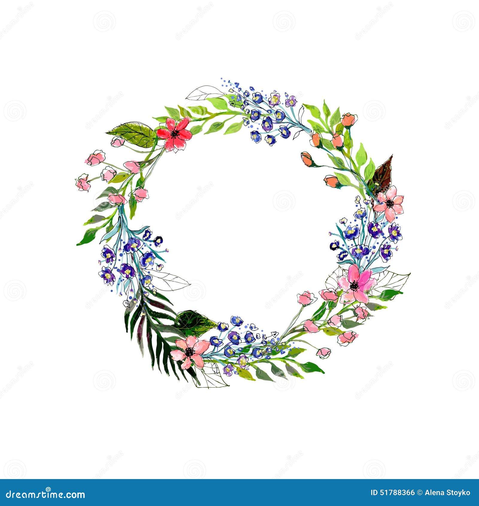 Wildflower Garland Ring