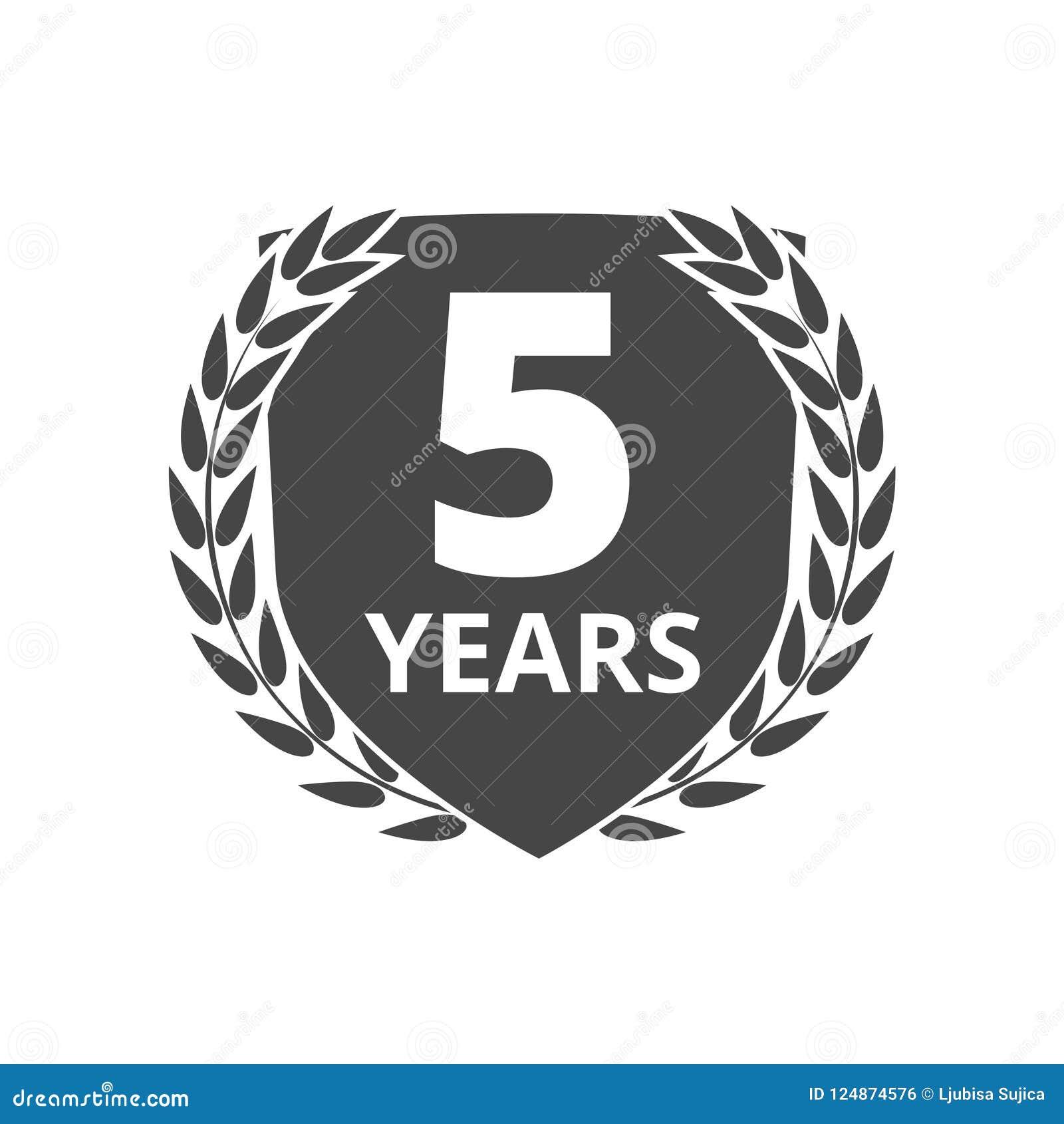 Guirlande de laurier 5 ans