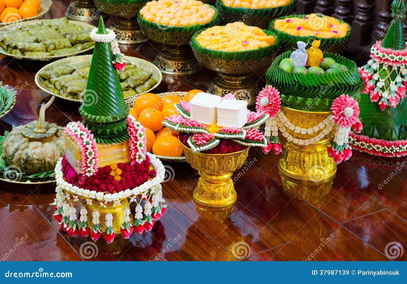 Guirlande et bonbon thaïlandais