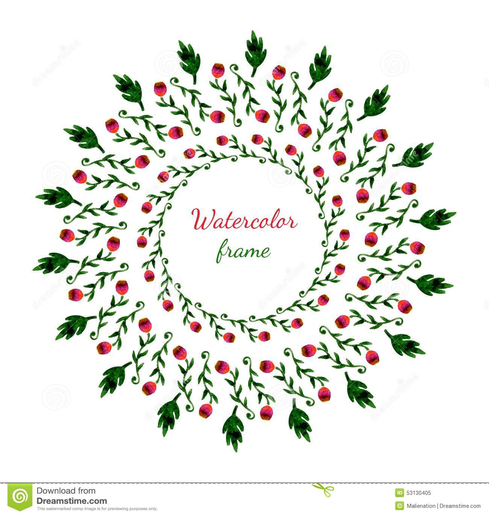 guirlande florale invitation mariage ou carte d. Black Bedroom Furniture Sets. Home Design Ideas
