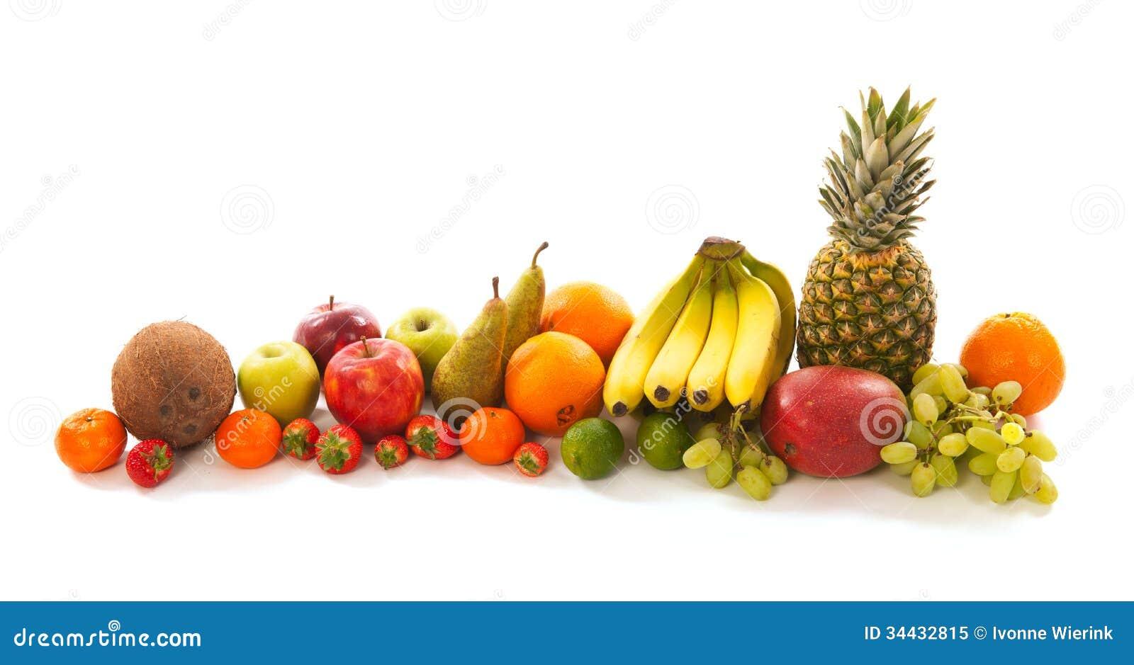 Guirlande From Fruit Royalty Free Stock Photo - Image ...