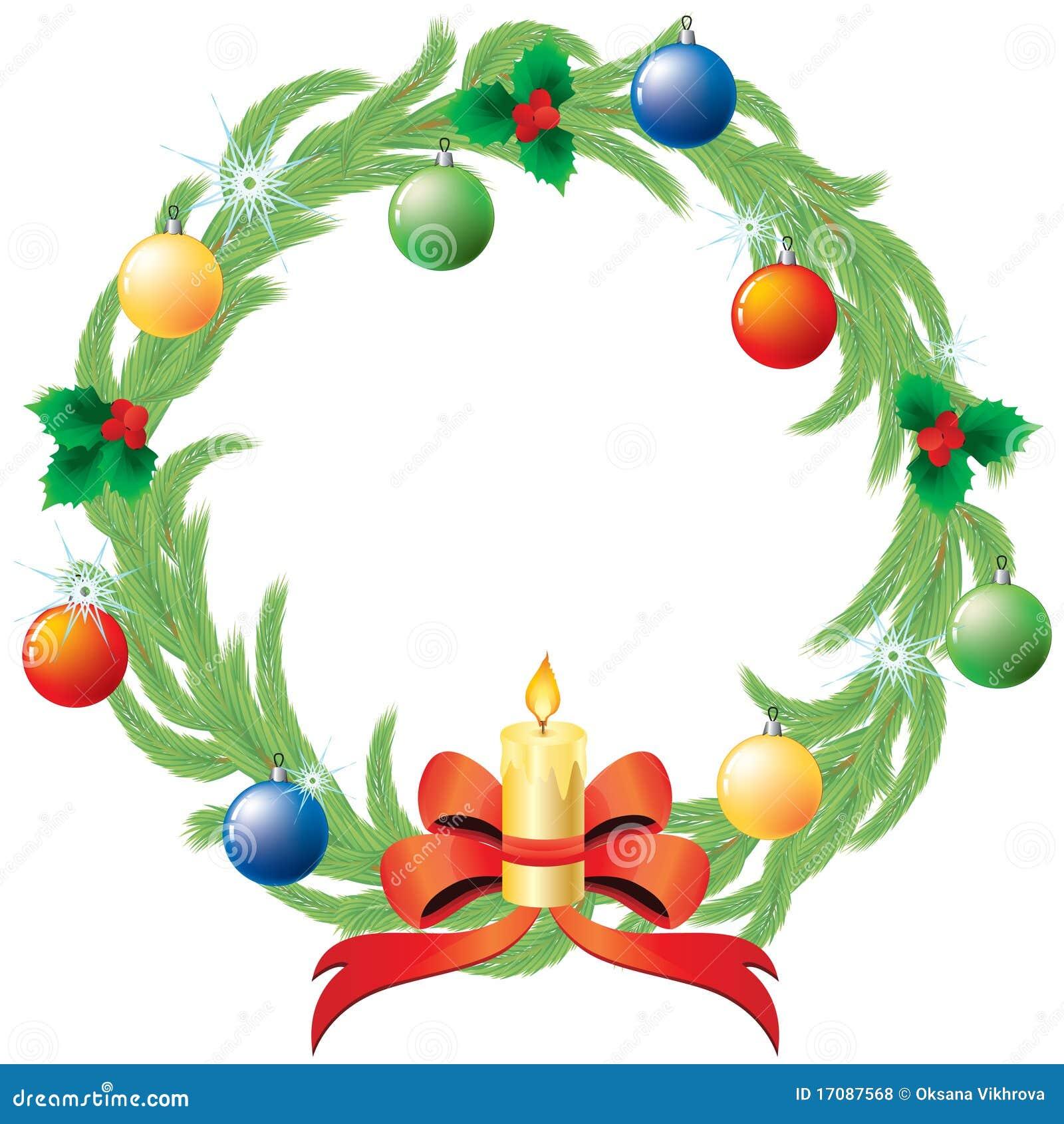 Guirnalda de la Navidad