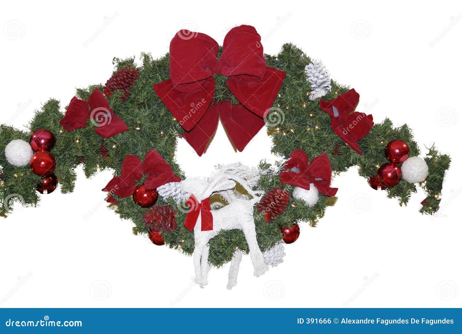 Guirnalda de la navidad imagen de archivo libre de - Guirnalda de navidad ...