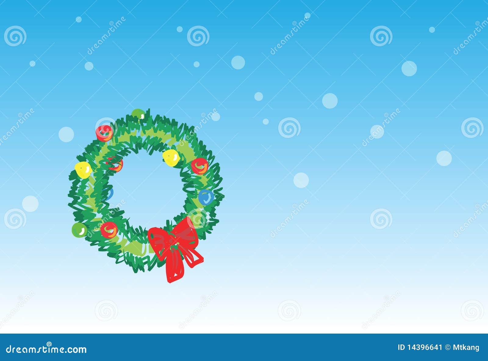 Guirnalda de la navidad 5 de 6 tarjetas de navidad - Guirnalda de navidad ...