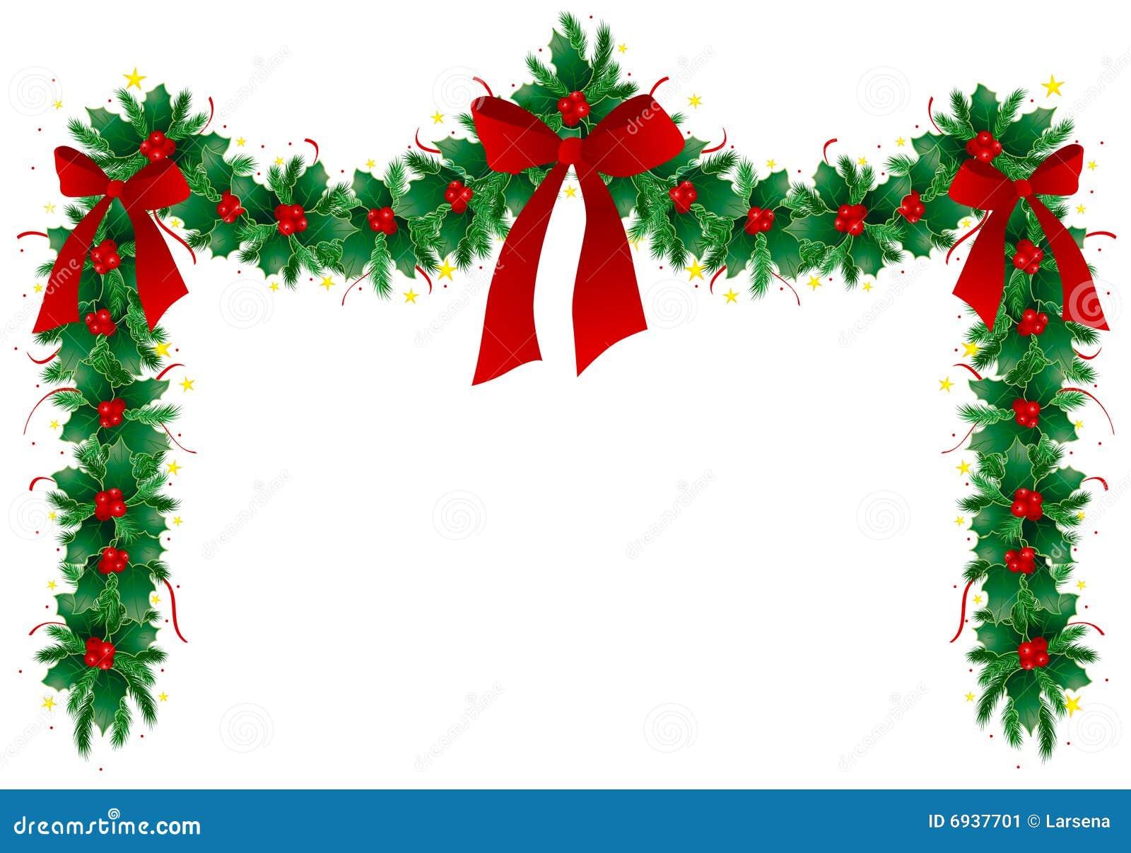 guirnalda de la navidad imagen de archivo - Guirnaldas De Navidad