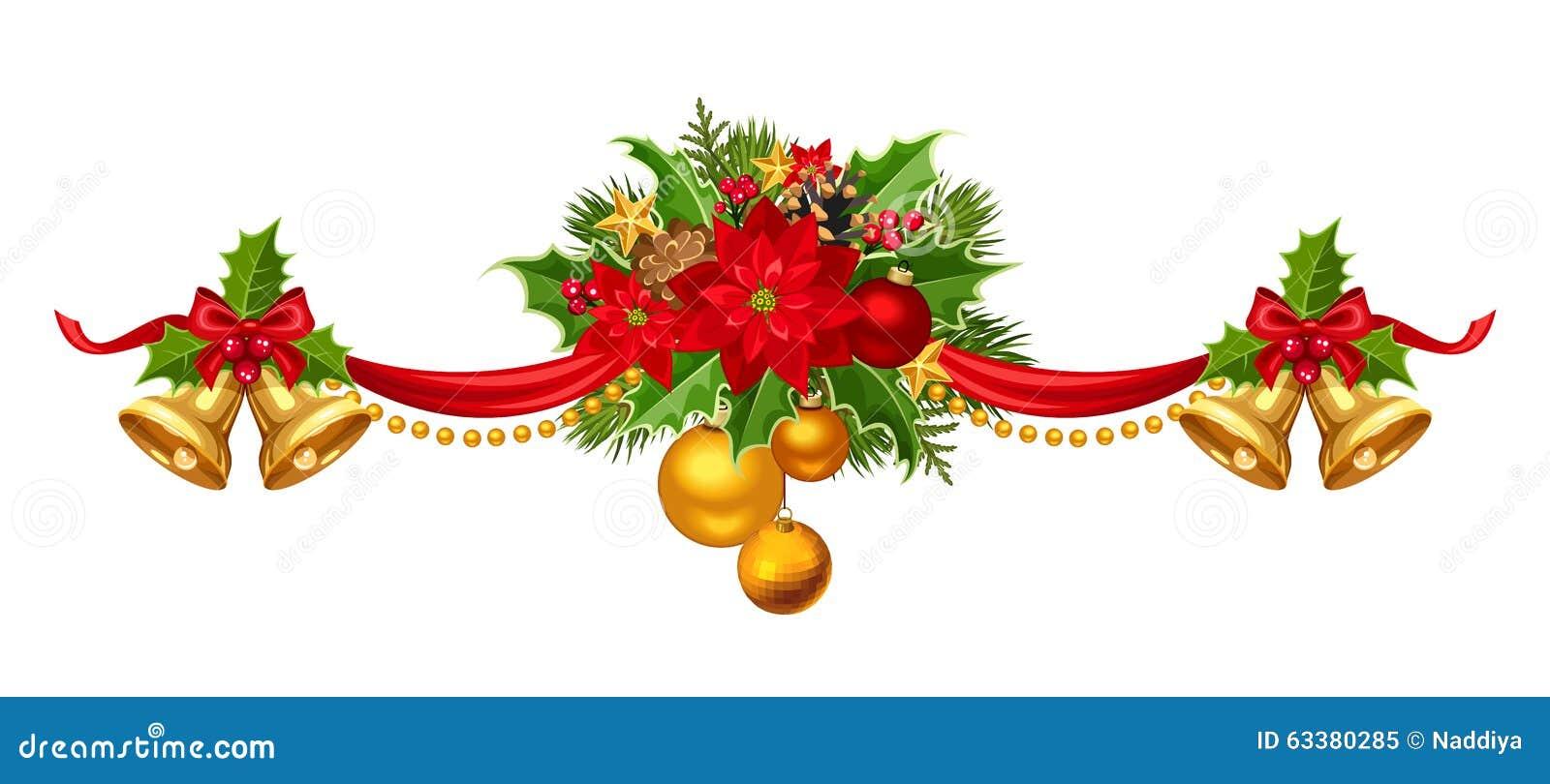 guirnalda de la navidad ilustracin del vector - Guirnaldas De Navidad