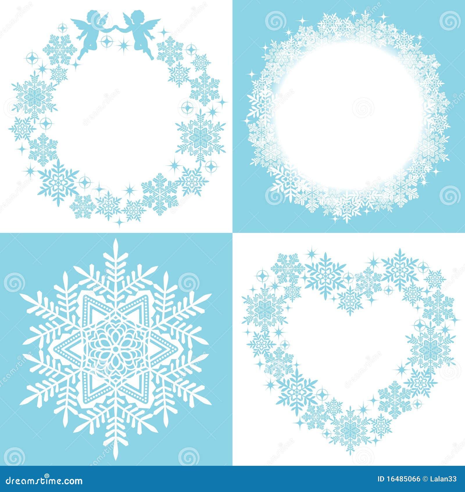 Guirnalda del cristal de la nieve