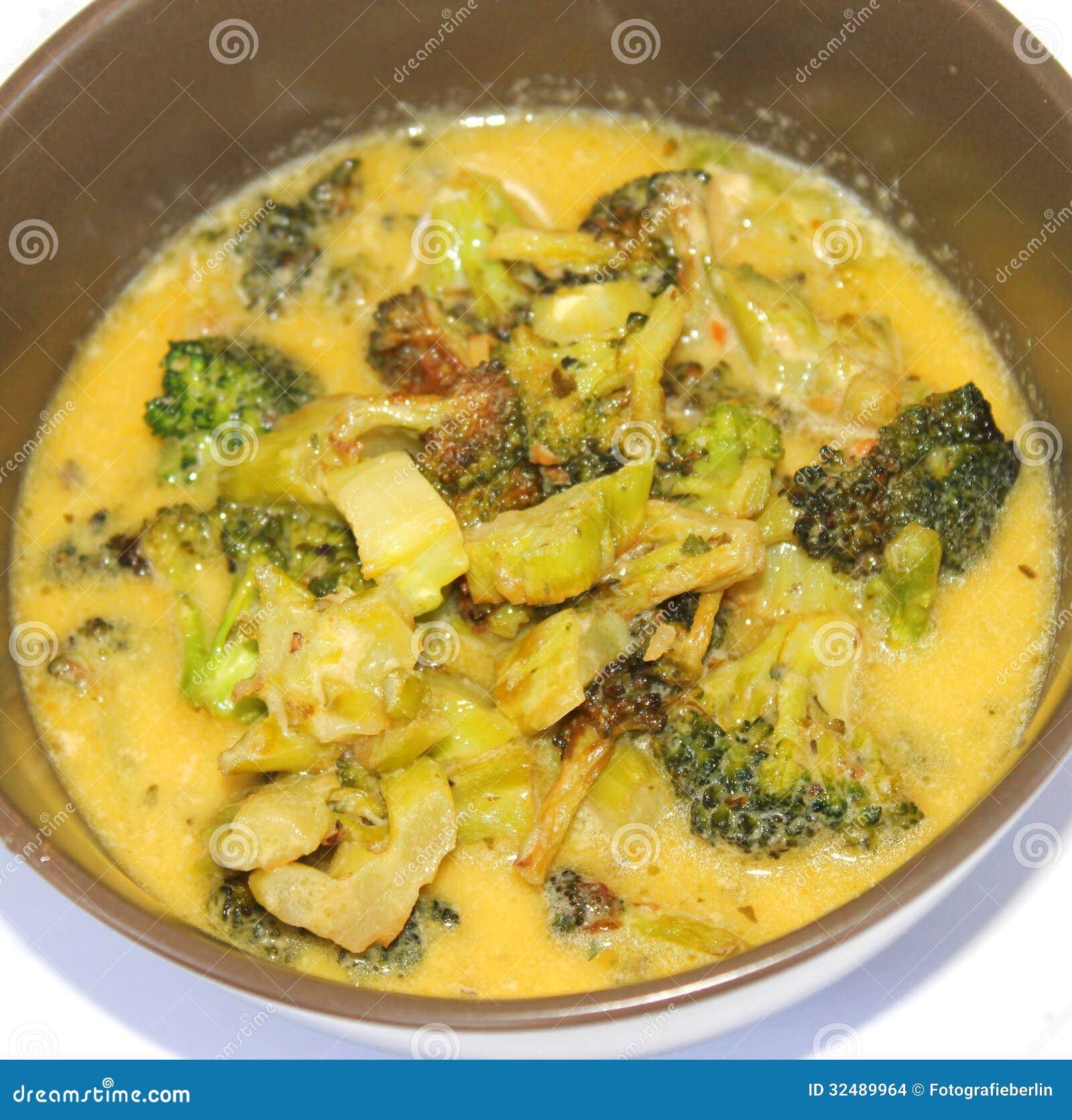 Guisado del bróculi