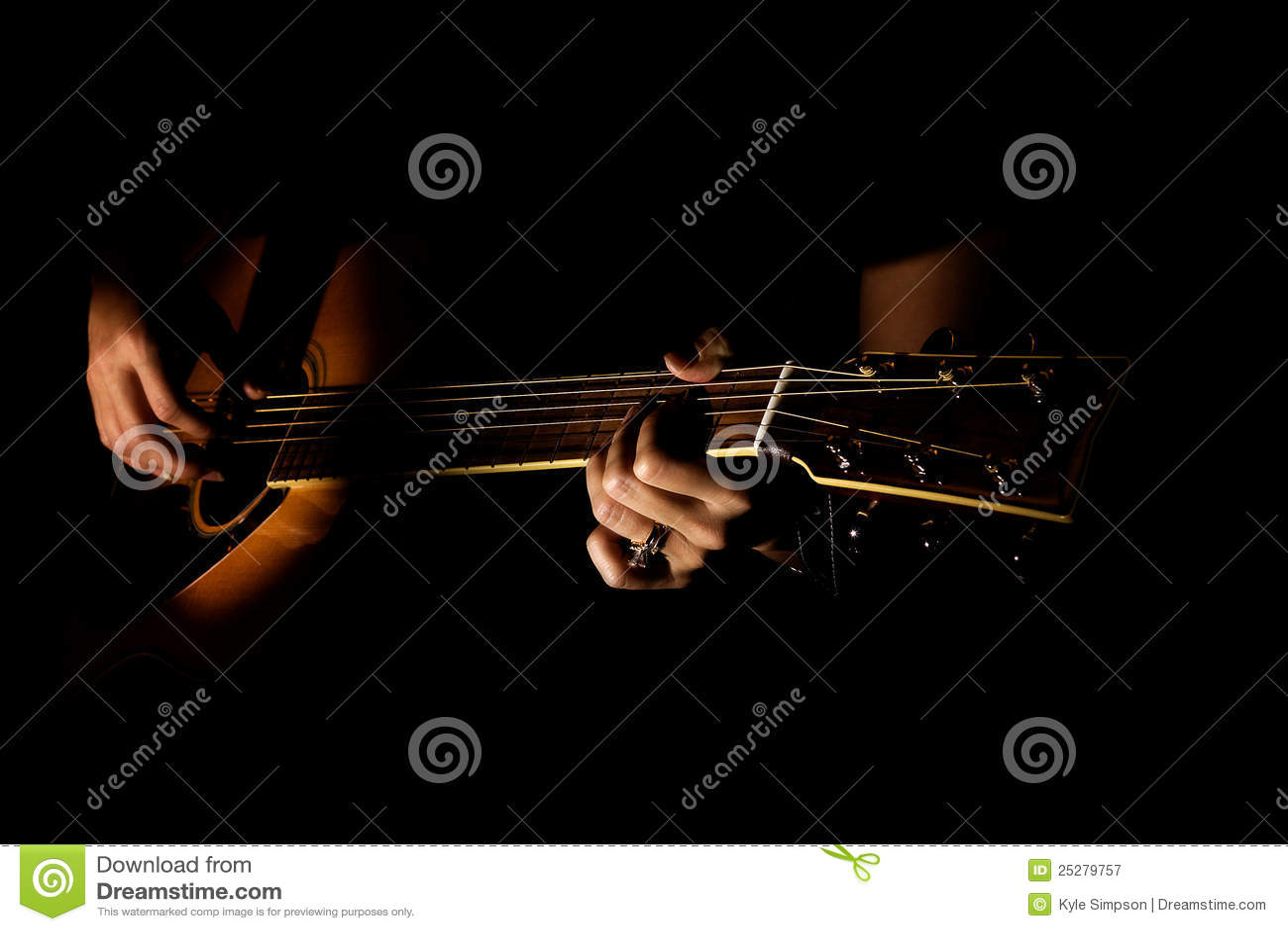 Download Guitar stock image. Image of tuning, guitar, fingering - 25279757