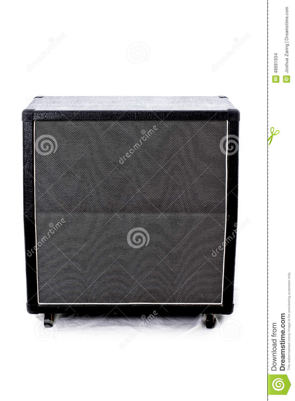 Guitar Amp Cabinet Stock Photo - Image: 48681934