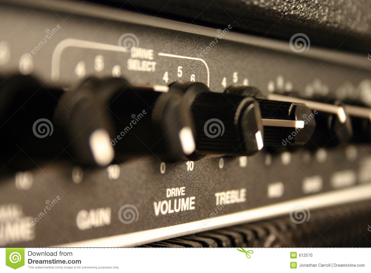 Guitar Amp / Speaker 01 Stock Photo - Image: 612570