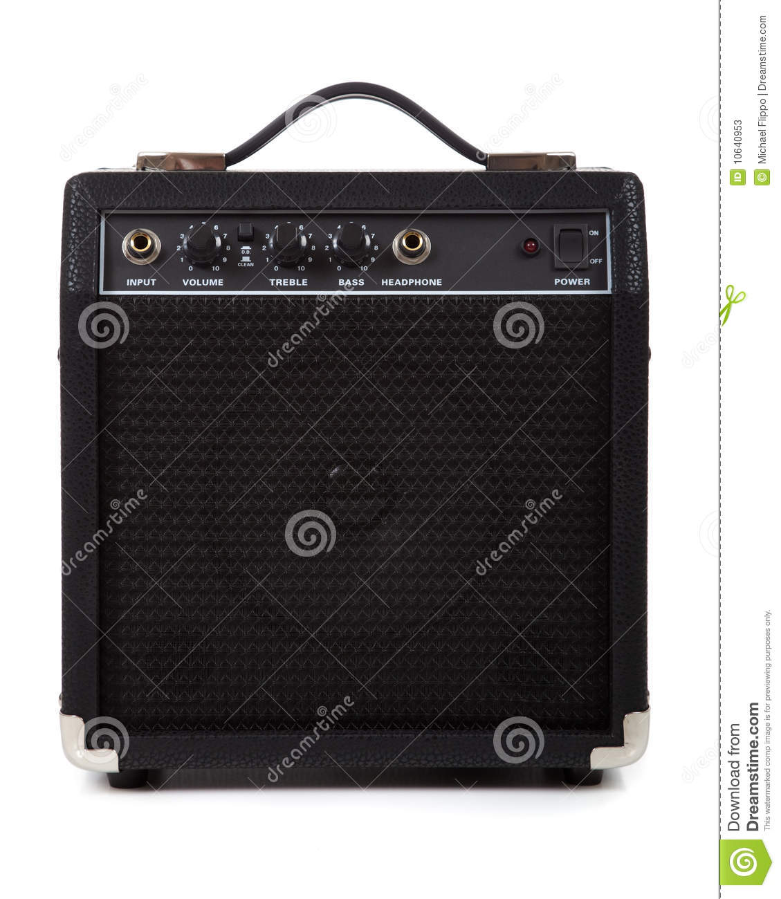 Guitar Amplifier Or Speaker Stock Photos - Image: 10640953