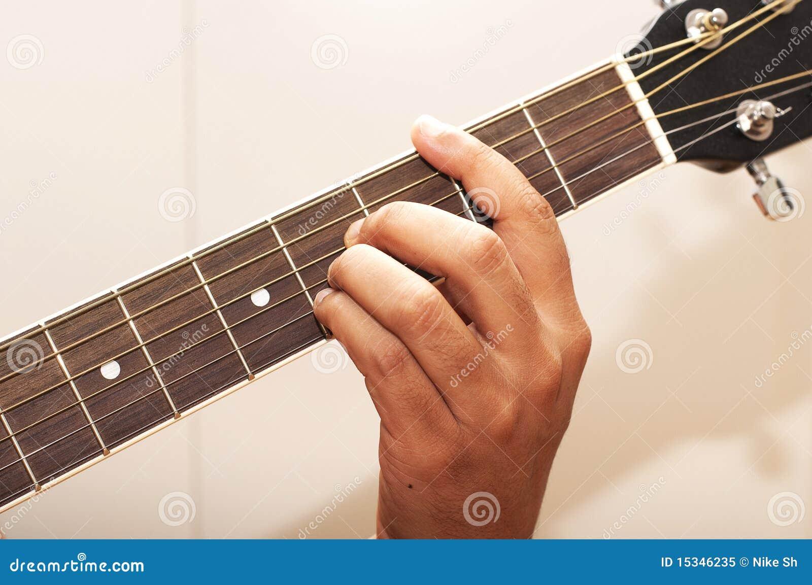 Guitar Chord B Royalty Free Stock Photo - Image: 15346235