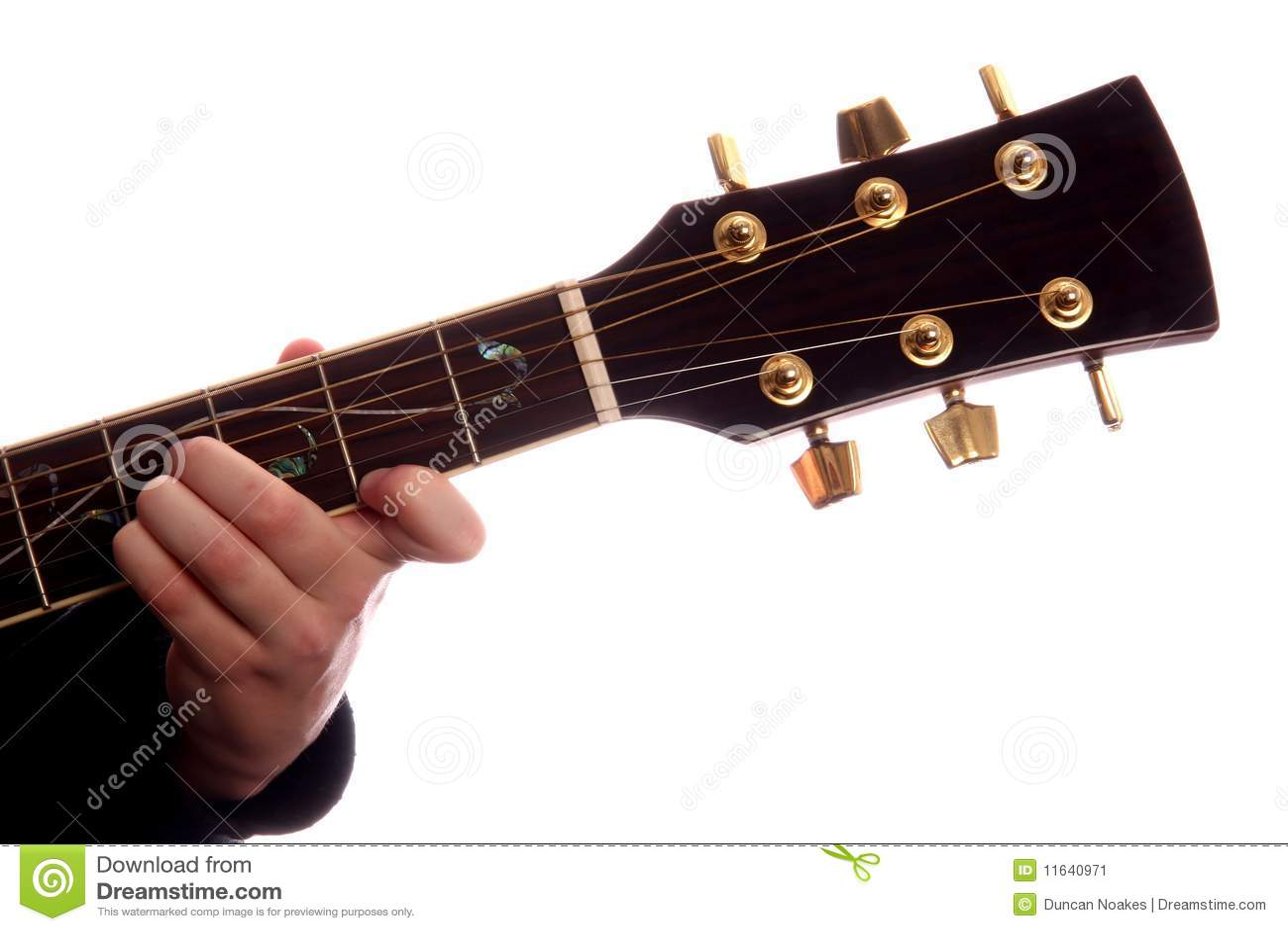 Guitar Chord B Major Stock Image Image Of Audio Blues 11640971