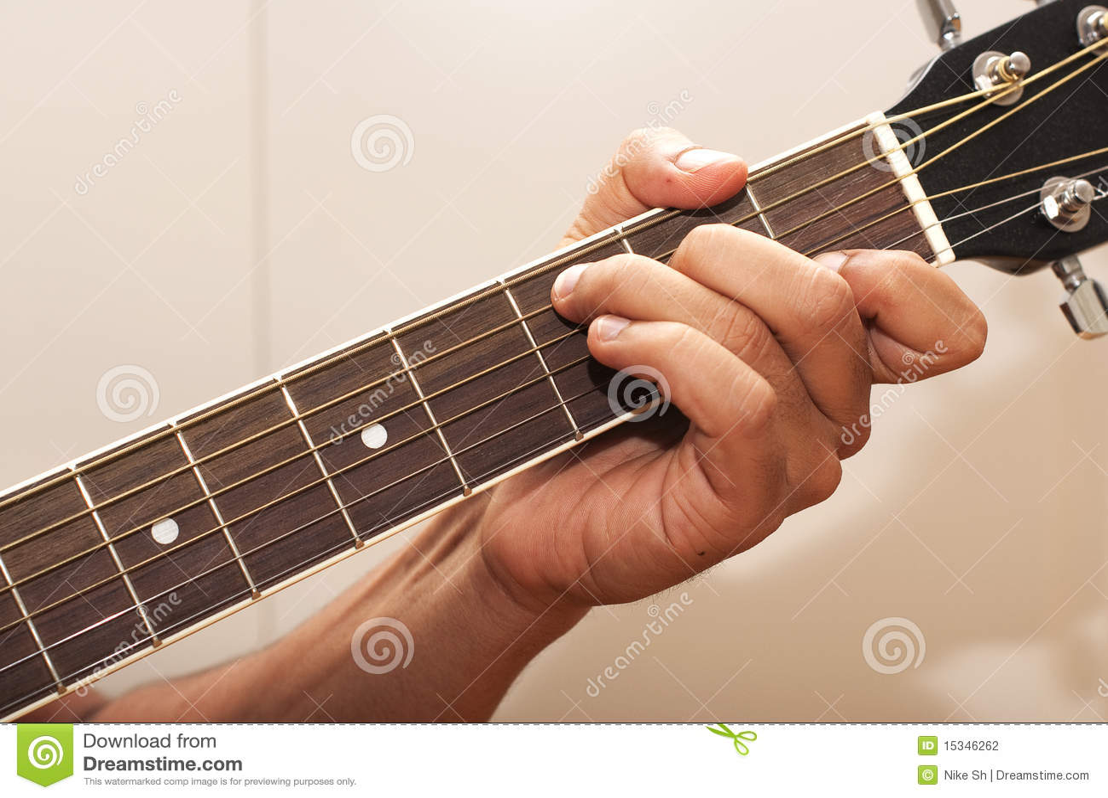 Guitar chord c stock photo image of chord neck blues 15346262 guitar chord c hexwebz Gallery