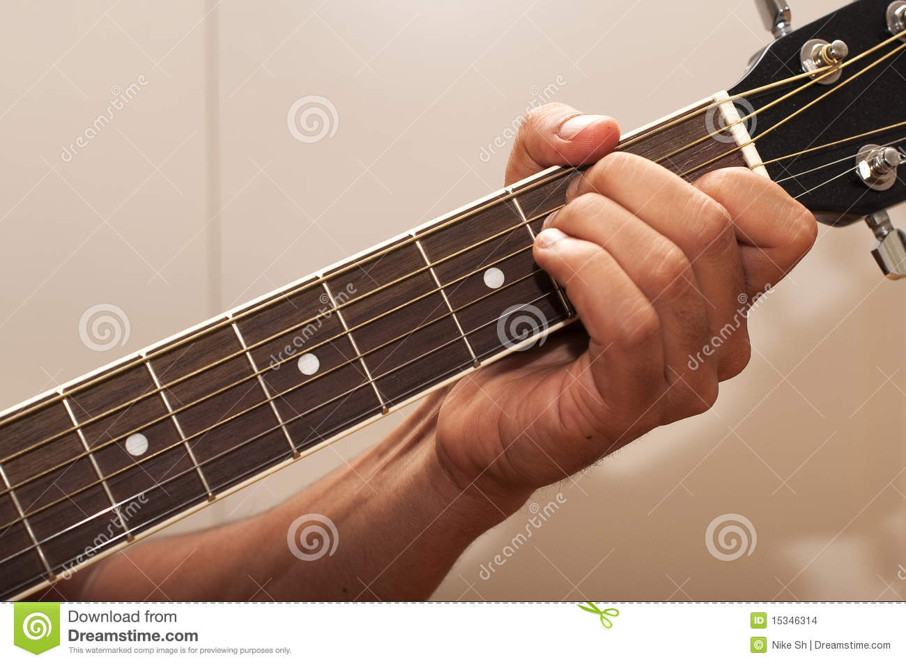 Guitar Chord E Stock Photo Image Of Musical Player 15346314