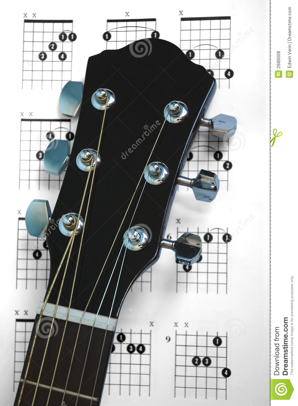 Guitar Chords Stock Photo Image Of Musical Object Fretboard 2689008