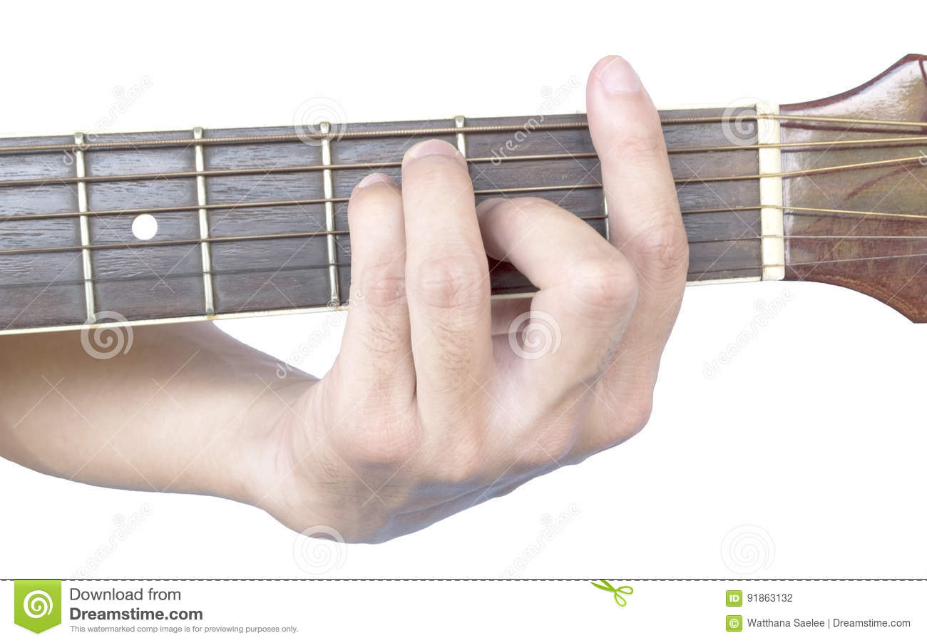 Guitar Chords F Major Stock Photo Image Of Instrument 91863132