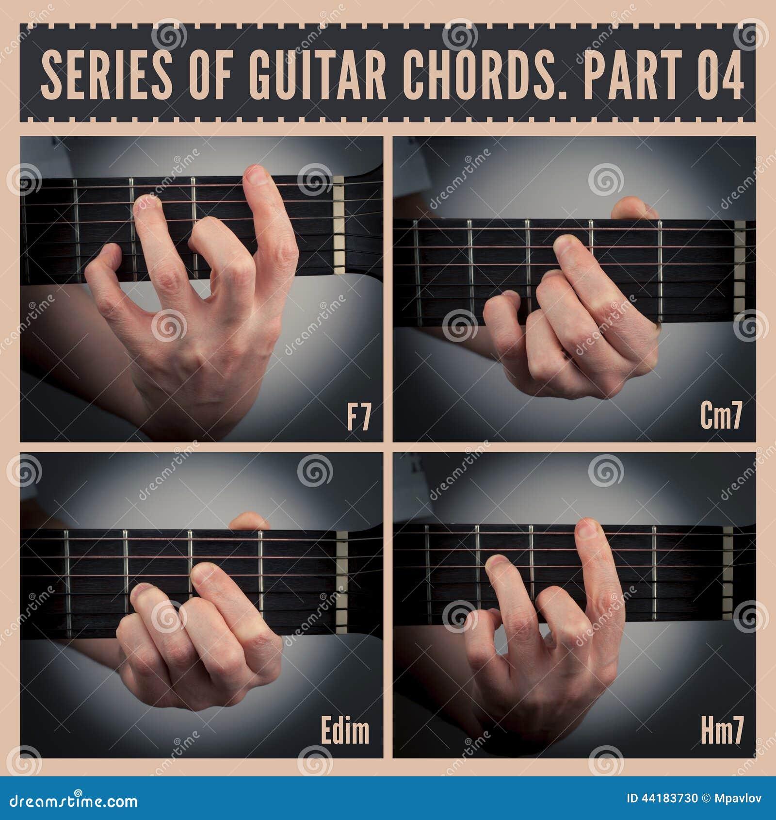 Guitar Chords Stock Illustration Illustration Of Acoustic 44183730