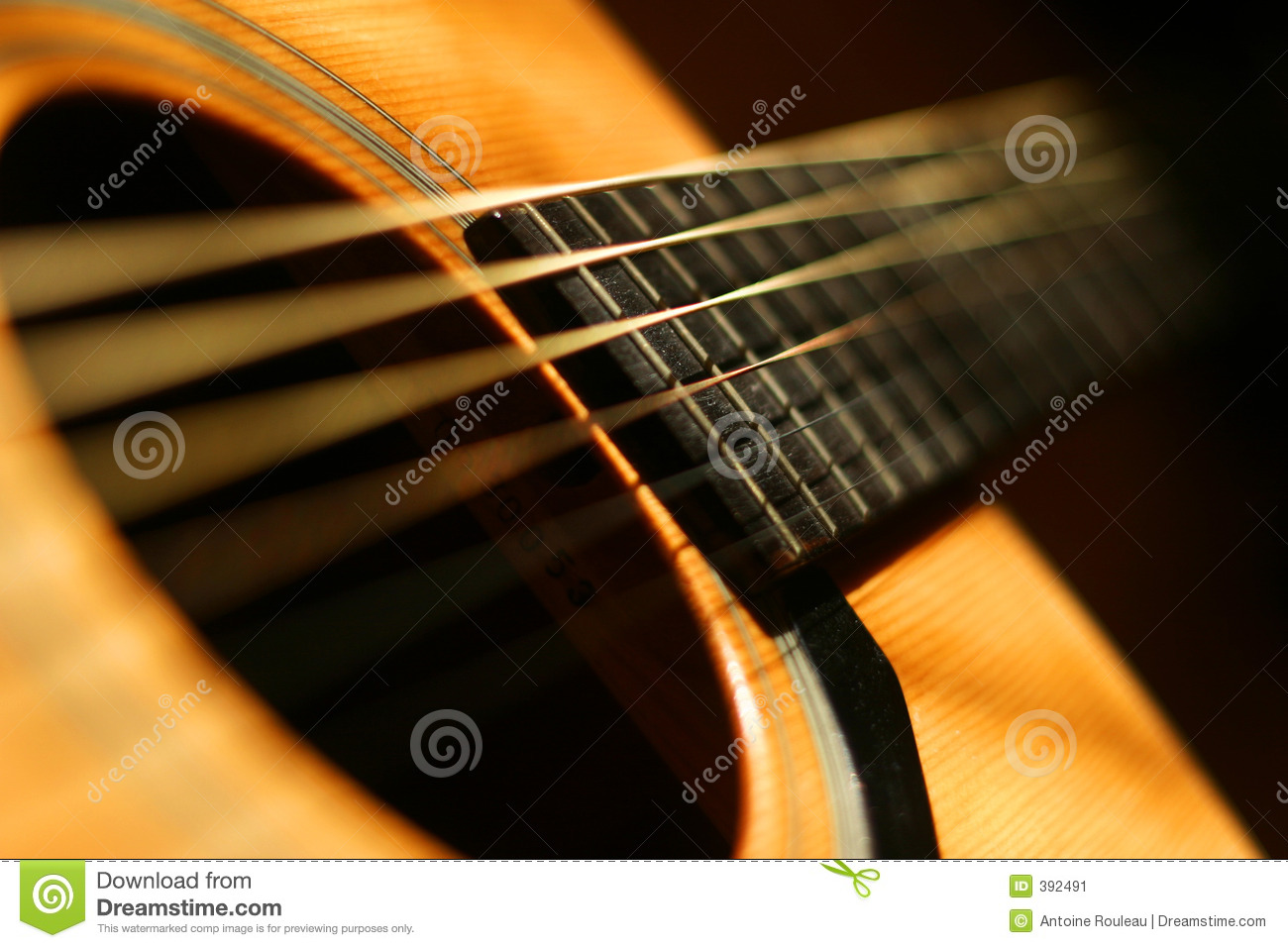 Guitar Close Up Stock Image Image Of Floor Frets