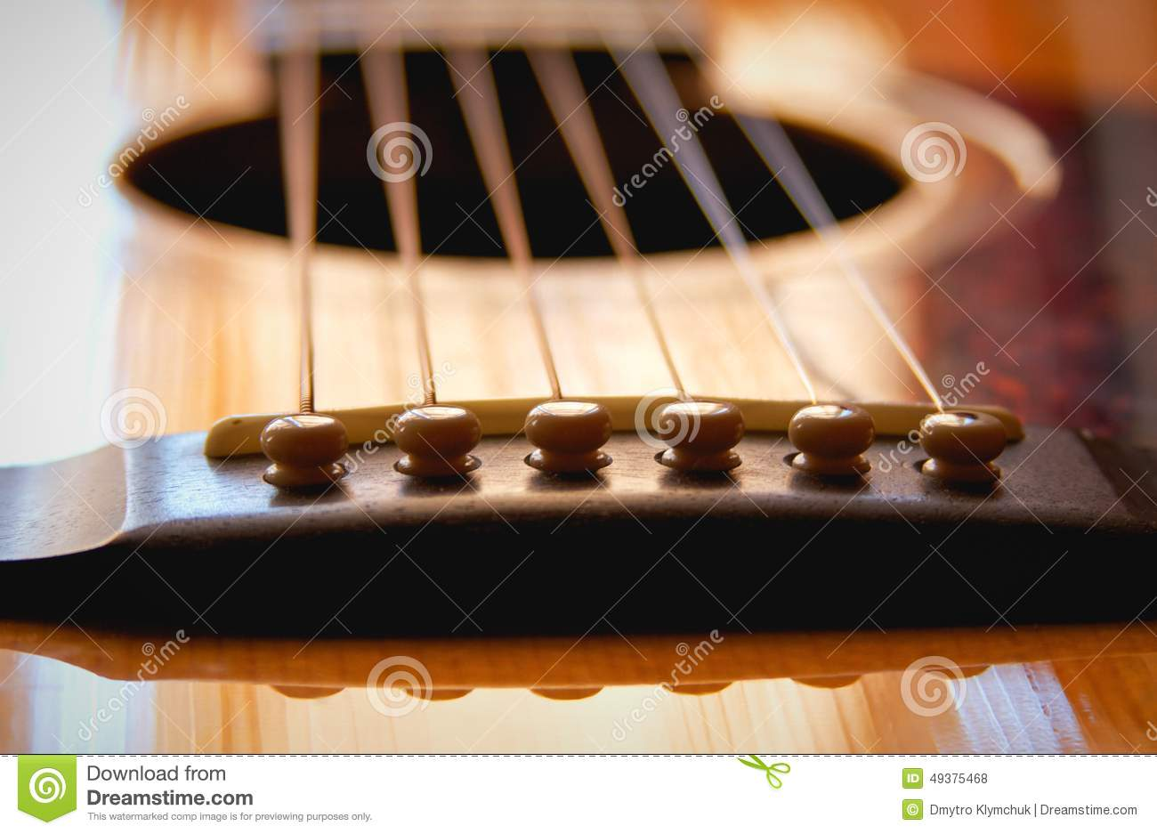 guitar close up stock photo image of part music acoustics 49375468. Black Bedroom Furniture Sets. Home Design Ideas
