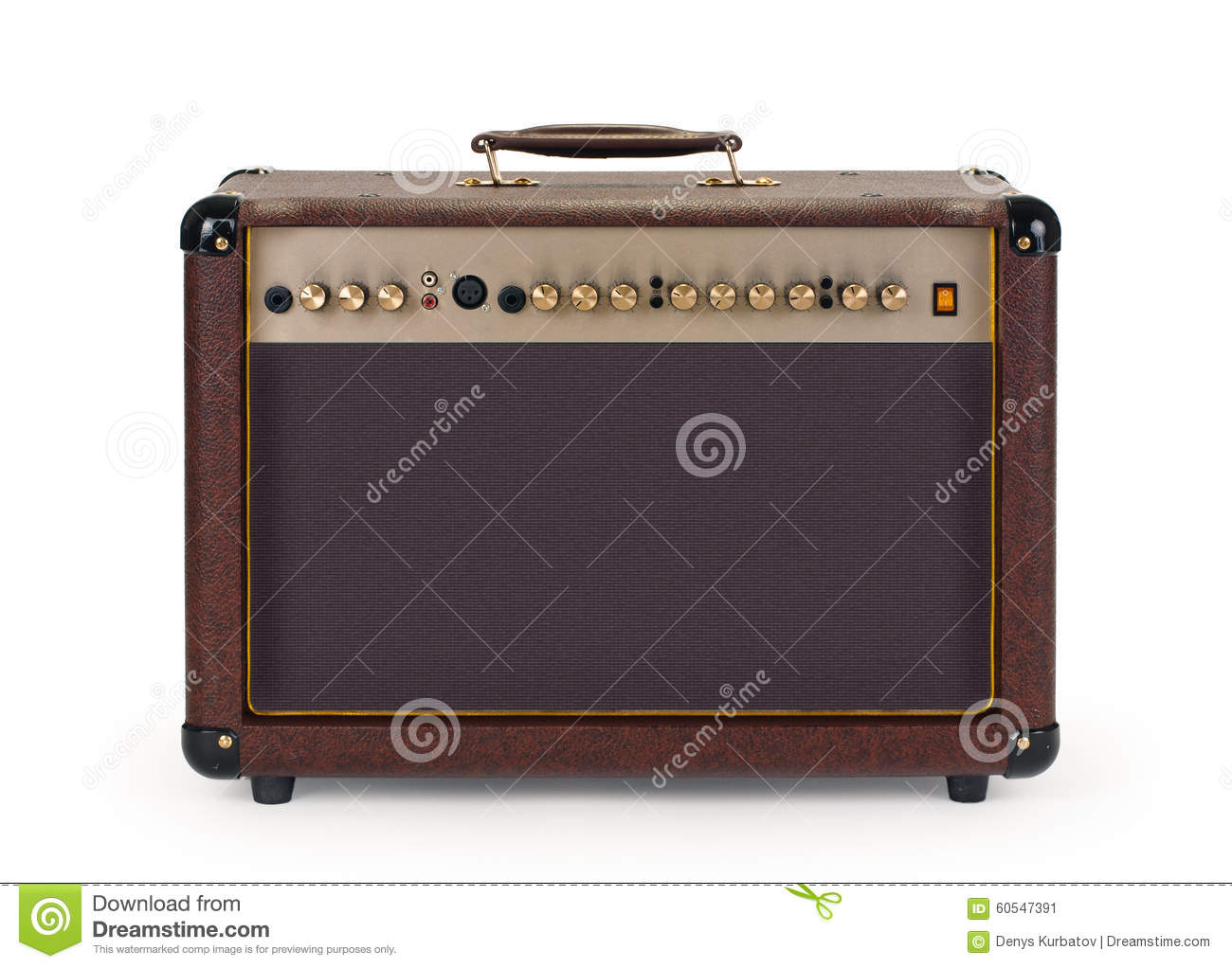 guitar combo amplifier stock image image of guitar classic 60547391. Black Bedroom Furniture Sets. Home Design Ideas